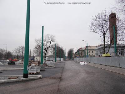 Budowa dworca autobusowo-trolejbusowego w Tychach