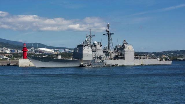 Buques de EEUU desafían a China en el estrecho de Taiwán