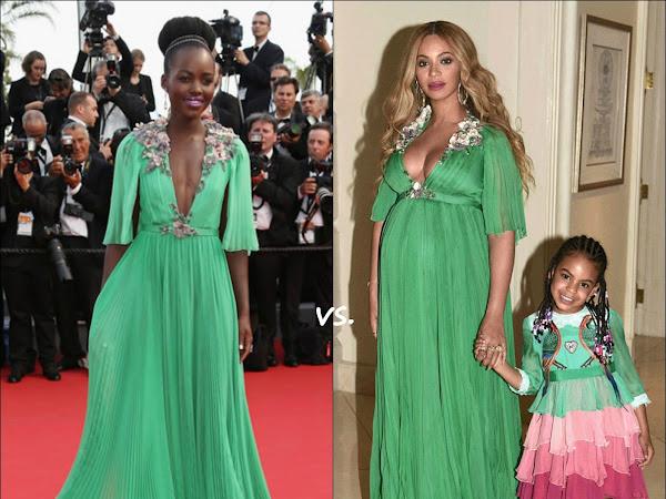 👗Lupita Nyong'o vs Beyoncé Knowles
