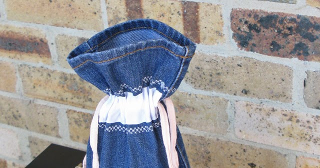 how to make demin bags