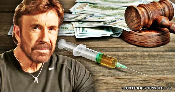Και ο Chuck Norris ξεσηκώνεται εναντίον των φαρμακευτικών εταιρειών...