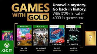 Games with Gold concreta sus propuestas de abril