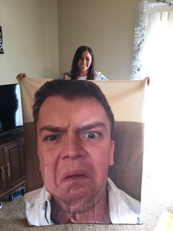 40 Photos Of The Most Hilarious Parents You Will Ever Meet - My Dad Calls It My Virginity Protection Blanket Or 'V.P.B.' For Short