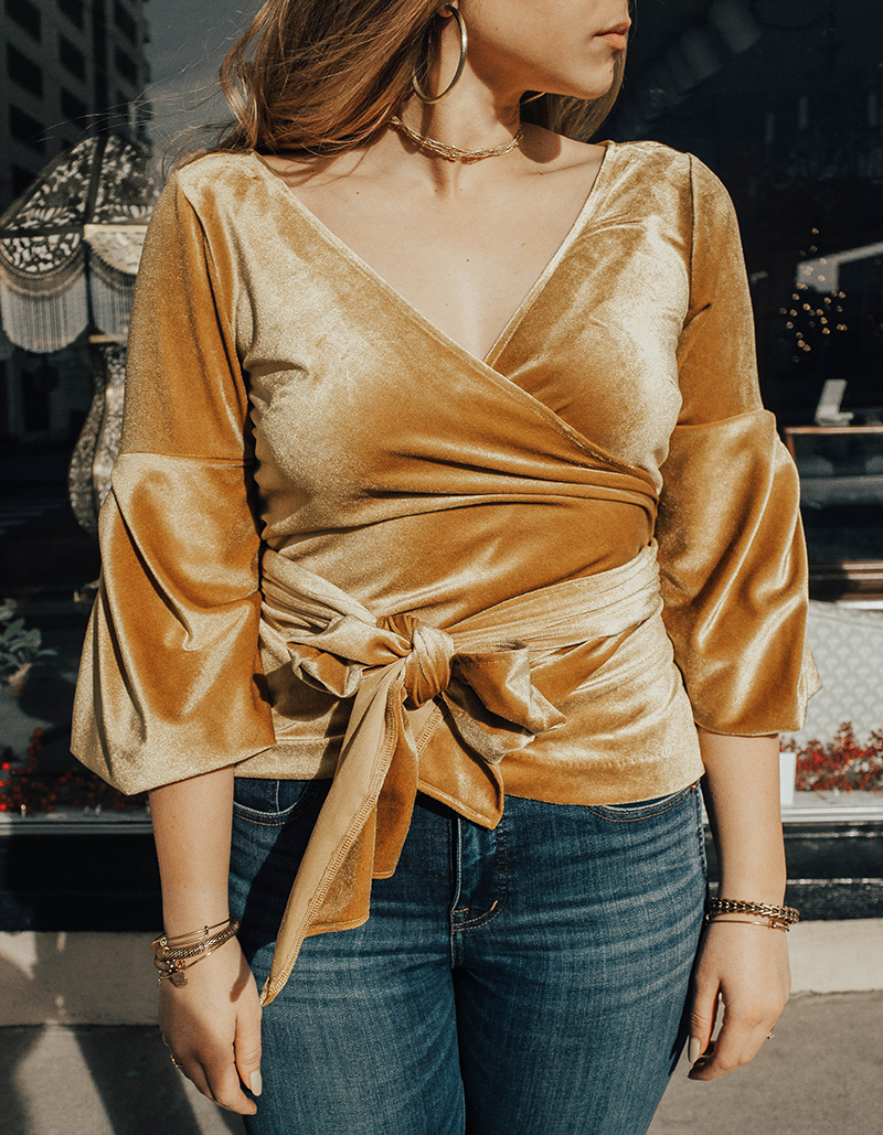 mustard yellow top, women's fashion, fashion and style