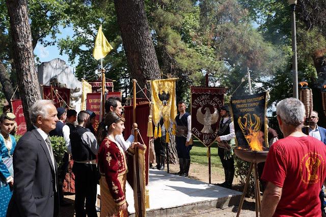 Πραγματοποιήθηκαν στη Νάουσα οι κεντρικές εκδηλώσεις Μνήμης της Γενοκτονίας του Ποντιακού Ελληνισμού
