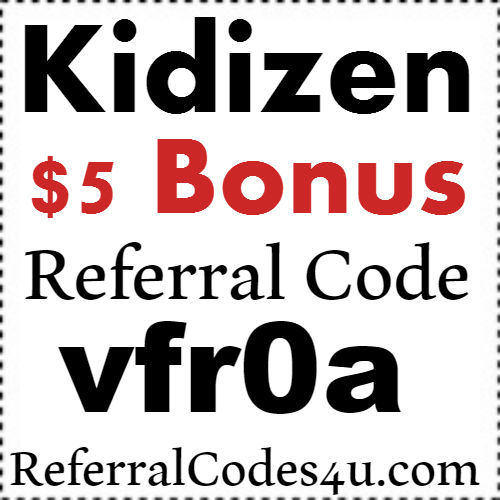 Kidizen Referral Code 2017, Kidizen Sign Up Bonus, Kidizen Refer A Friend Bonus 2017-2018