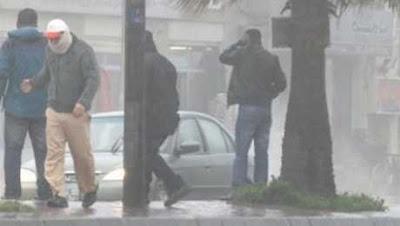 أمشير يكشر عن أنيابه..طقس سيئ يصل للقاهرة والوجه البحري بعد ساعات.. وتحذيرات متتالية من الأرصاد الجوية