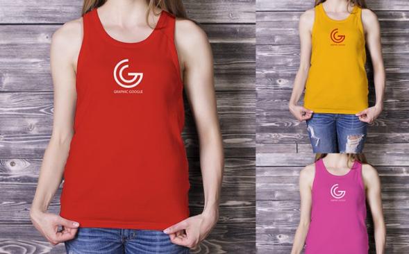 Kumpulan 15 Template T-Shirt Mockups PSD Terbaik Untuk Usaha Baju / Kaos / Jaket