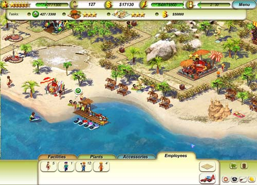 لعبة الشاطئ Paradise Beach