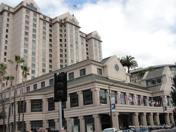 exterior of The Fairmont San Jose in California