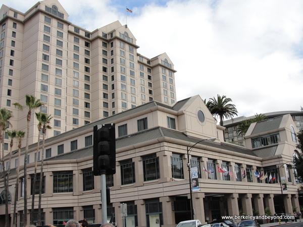 exterior of The Fairmont San Jose in California