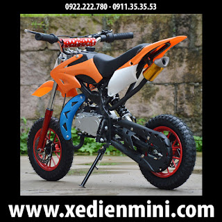 Xe cào cào mini 50cc màu cam giá rẻ TPHCM