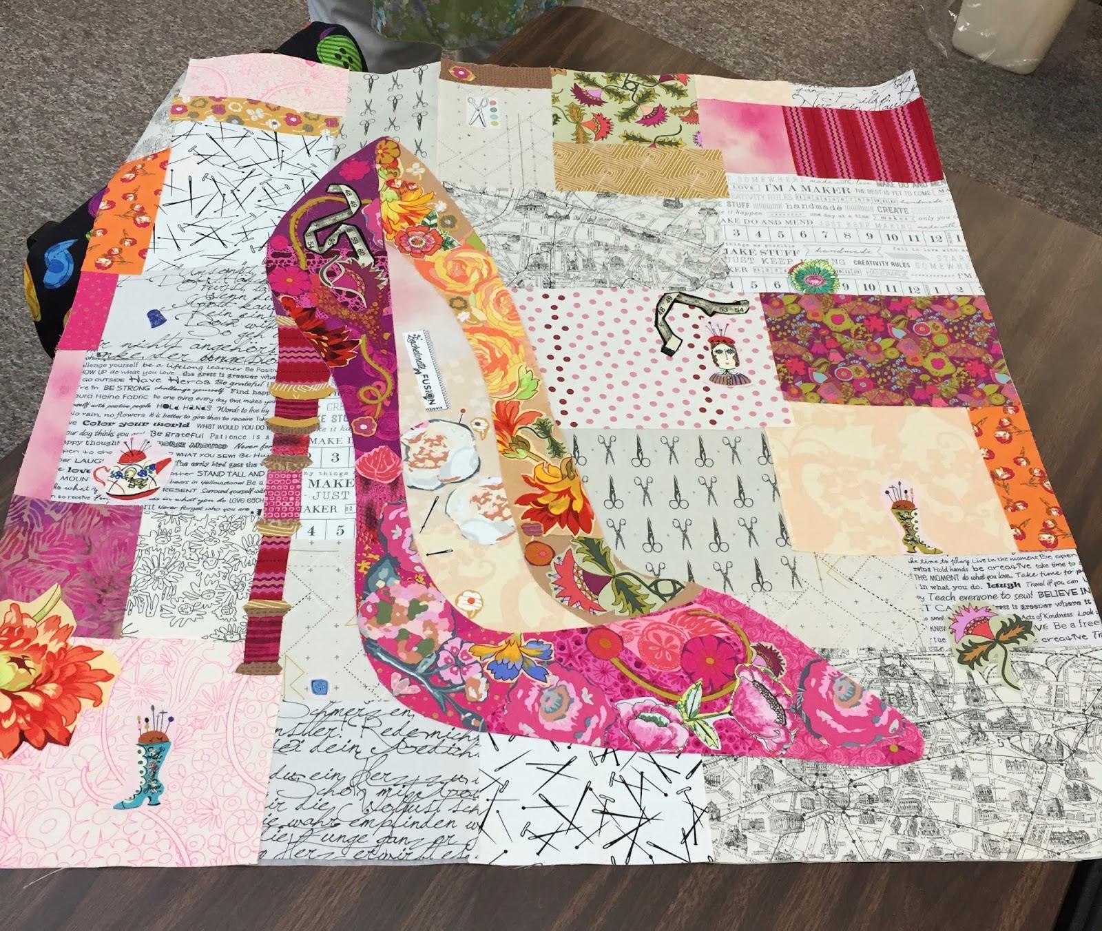 Sew Fun 2 Quilt English Paper Piecing