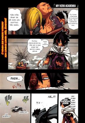 Mangá Boku No Hero Academia Capítulo 142