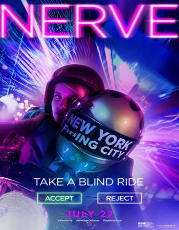Poster Of Nerve 2016 English 400MB BRRip 720p ESubs HEVC Free Download Watch Online downloadhub.in