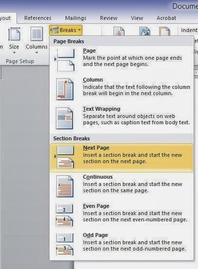 Membuat Halaman Romawi Dan Angka : membuat, halaman, romawi, angka, Membuat, Halaman, Romawi, Angka, Biasa, Dalam, Microsoft, Blogger, Milenial