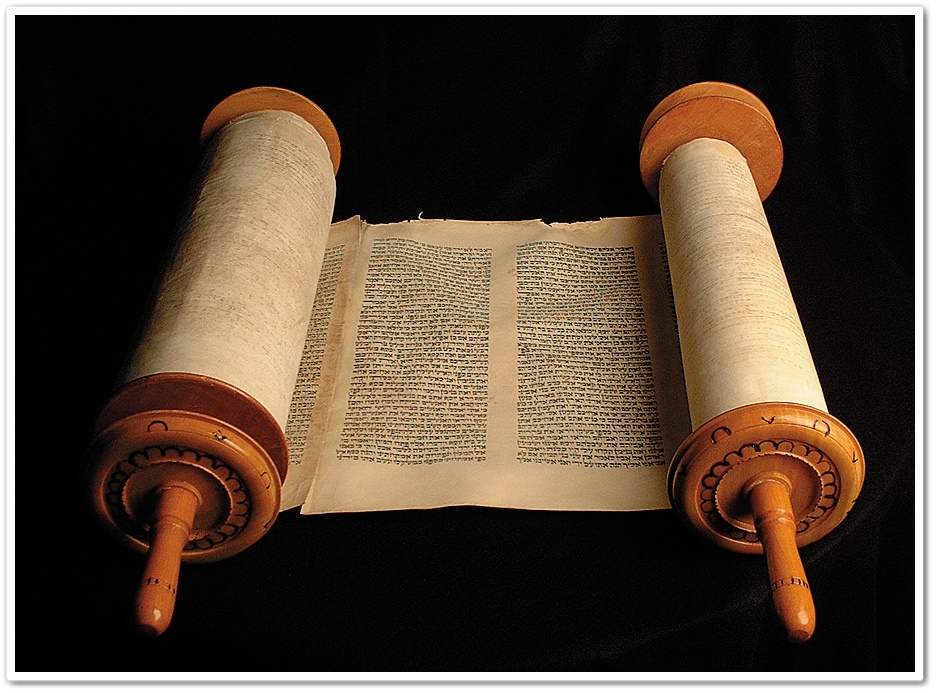 The Bible Was Originally Written On Scrolls