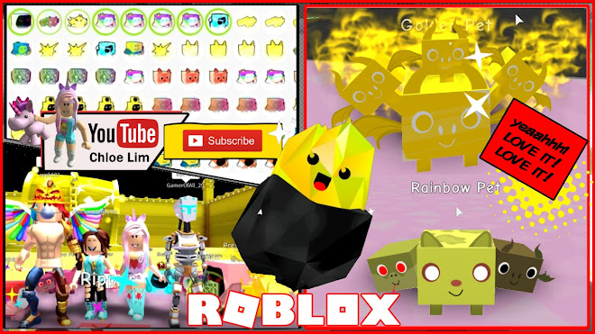 Roblox Pet Simulator Gameplay! New Eggs and Pets! I made