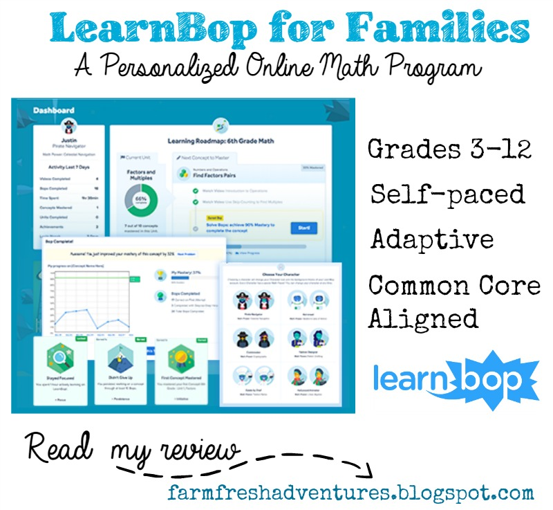 Farm Fresh Adventures: LearnBop: Personalized Online Math Program ...