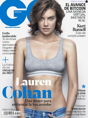 Lauren Cohan - GQ Mexico 2017 Febrero (14 Fotos HQ)