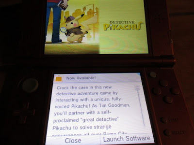 Detective Pikachu now available Nintendo 3DS SpotPass notification