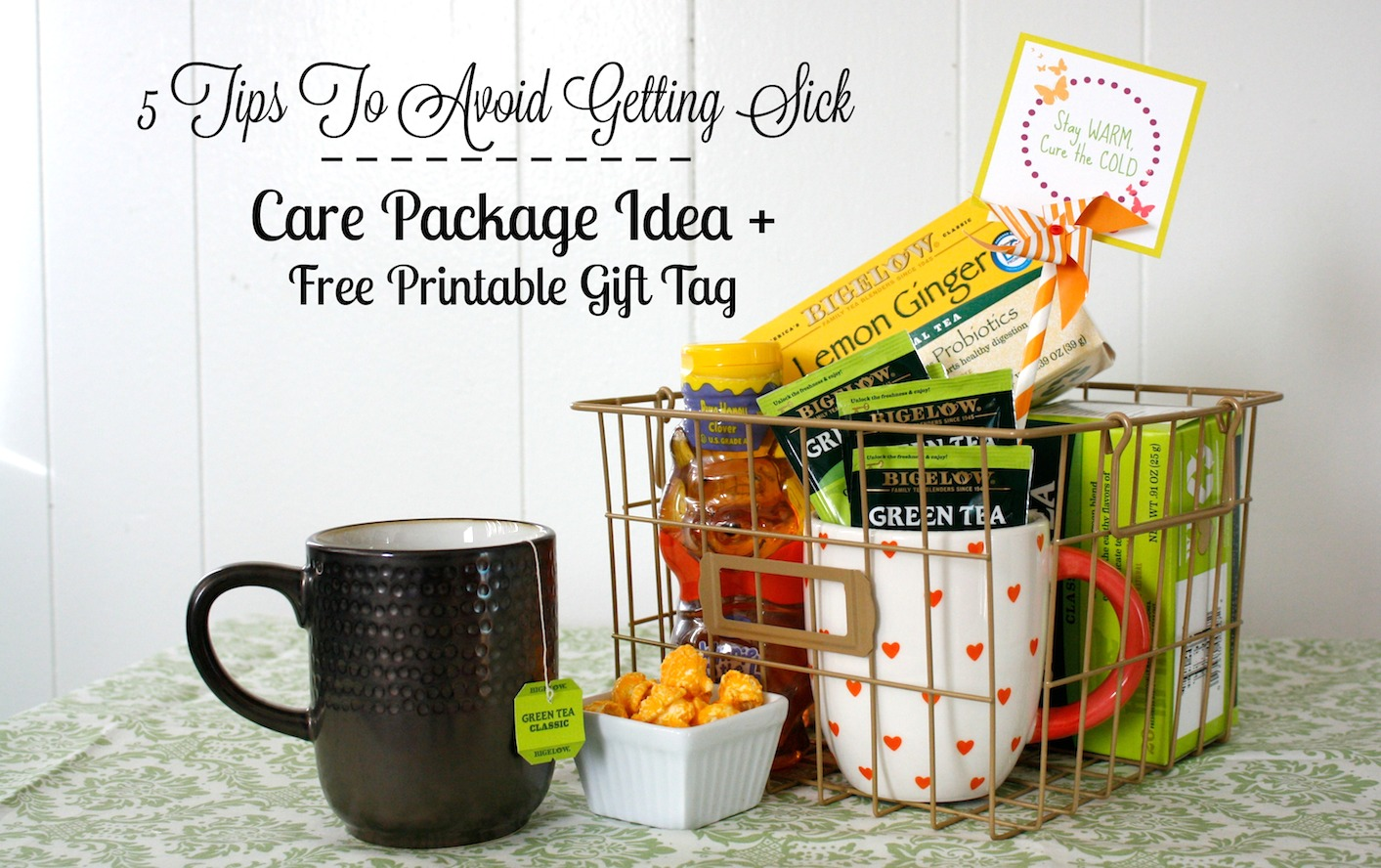 5 Tips to Avoid Getting Sick + Care Package Idea and Free ...