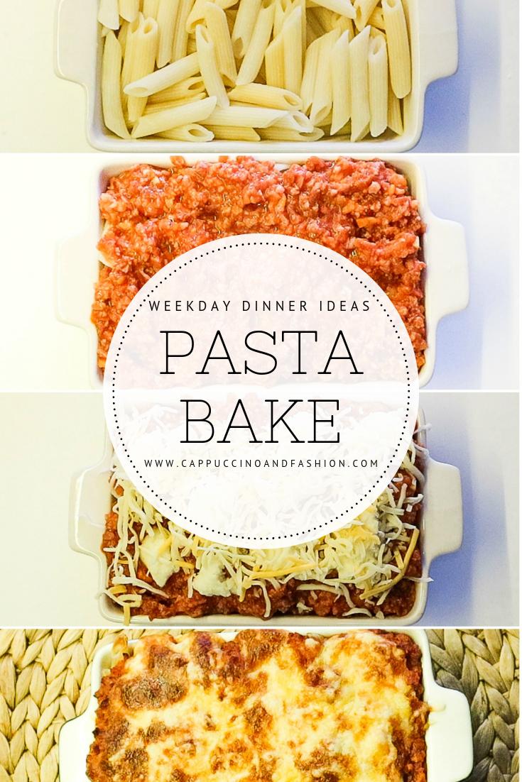 pasta bake dinner idea