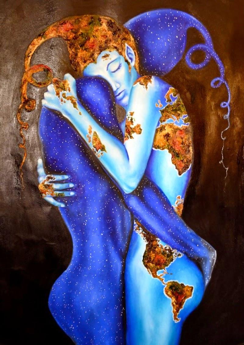 Evolução -  Pinturas de Lisete Alcalde | O pintor que toca o coração
