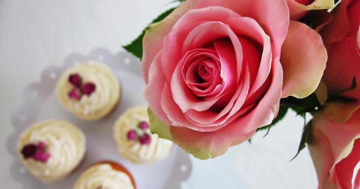 Die Muttertagsentschuldigung Oder Erdbeer Rosenwasser Cupcakes