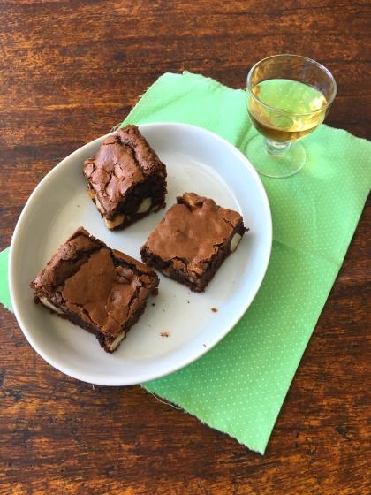brownies com castanha-do-pará