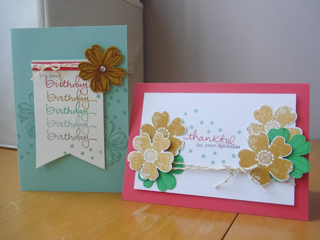 #Satomi Wellard #Independent Stampin'Up! Demonstrator Australia #Endless Birthday Wishes #Endless Thanks #Flower Shop # Pansy Punch #SU