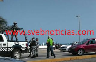 Tras asalto de Bancomer en Boca del Rio capturan a dos asaltantes