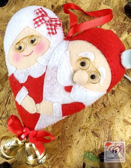 DIY - Decoração de Natal Com Feltro Super Fácil de Fazer Com Moldes 17