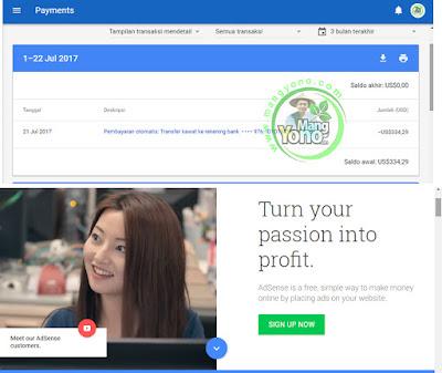 Pembayaran Google Adsense Bulan Juli 2017 Tertunda