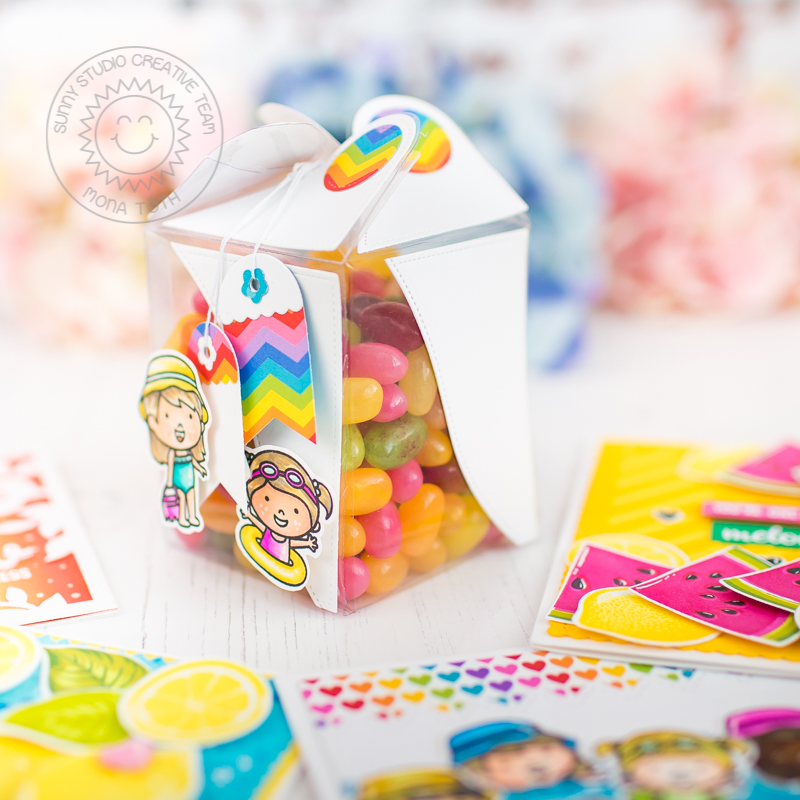 Candy Box | Sunny Studio Stamps - Mona Toth
