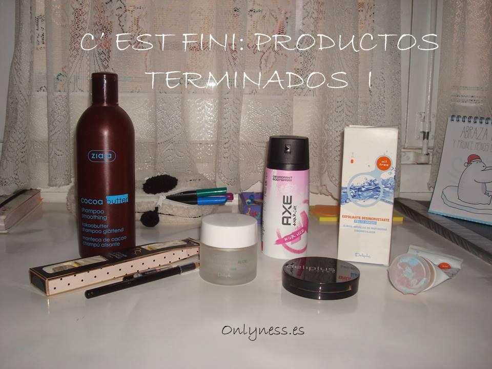 OnlyNess - C'est fini Productos terminados