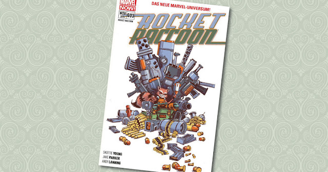 Rocket Raccoon 3 Panini Cover