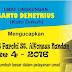 Selamat HUT ke-4 Paroki St Alfonsus Nandan - Lingkungan Demetrius Kutu Dukuh