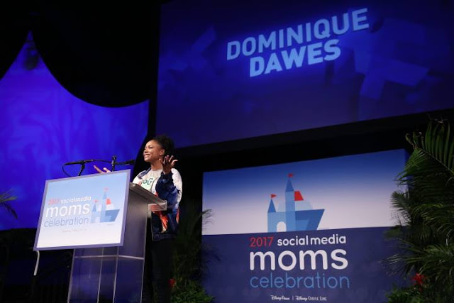 Disney Social Media Moms Celebration, Dominique Dawes