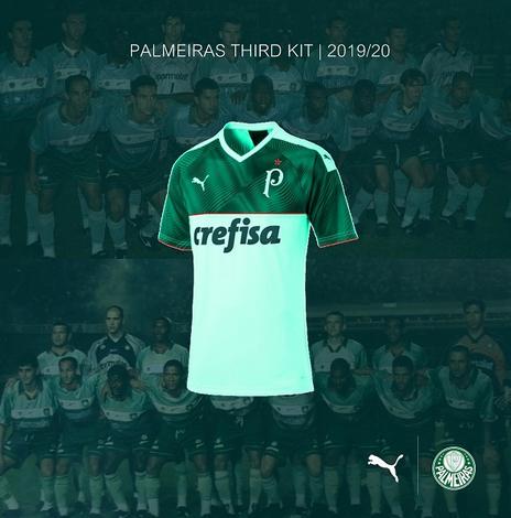 maglie calcio online 2020: Nuova maglia Palmeiras 2019 2020 Terza