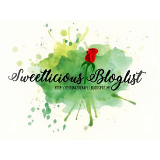 Segmen Sweetlicious Bloglist #SugarTreats2017