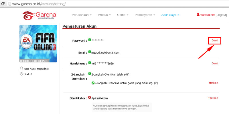 Cara Ganti Password Pb Zepetto Point Blank Indonesia Mas Rudi