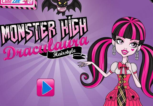 Juegos De Monster High Para Maquillar Y Peinar