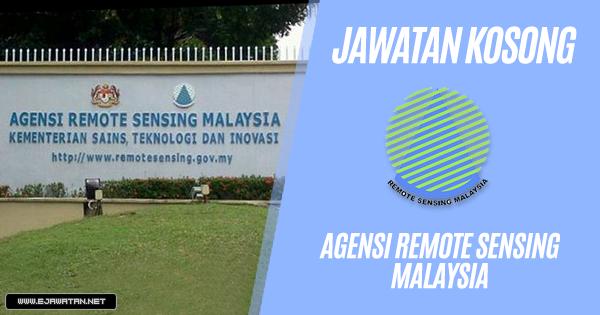 jawatan kosong kerajaan Agensi Remote Sensing Malaysia 2018