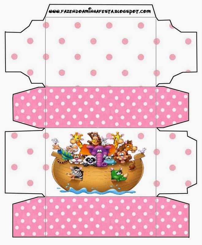 Cajas de Arca de Noé para Niñas para imprimir gratis.