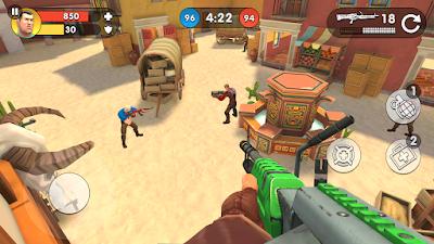 تحميل لعبة Guns of Boom مهكرة باخر تحديث