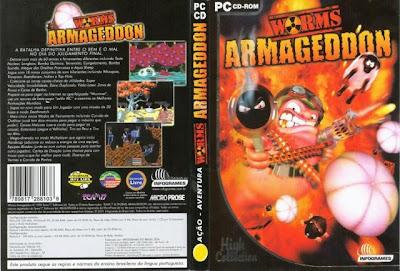Worms Armageddon Especial DVDCapa