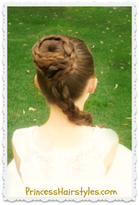 Star Wars Inspired Princess Leia Hair Tutorial
