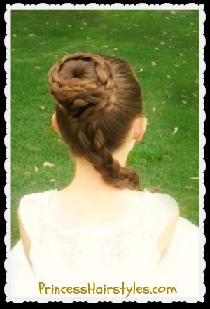 princess leia hairstyle spiral
