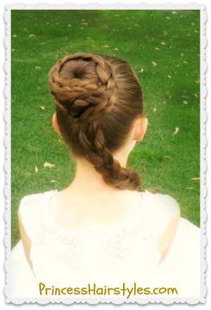 princess leia hairstyle spiral